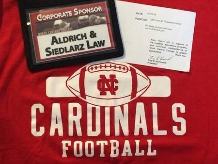 Aldrich & Siedlarz Law: Proud Sponsors of North Central College