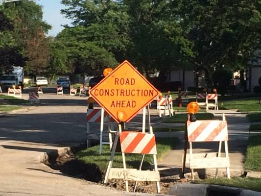 Speeding in a Construction Zone Warning from DuPage County Traffic Attorneys